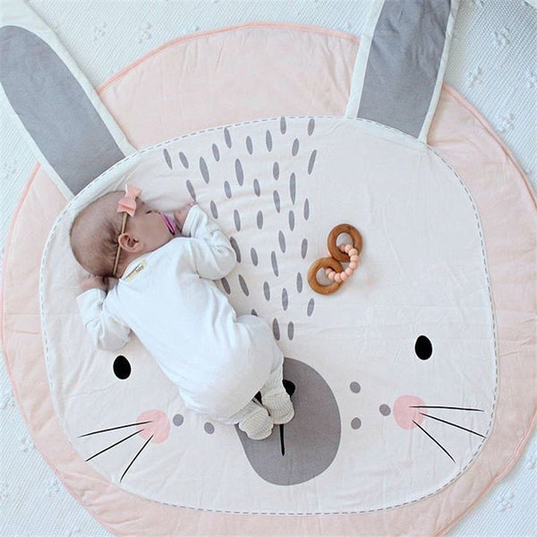 Pink Rabbit Kids Play Mat - Just Kidding Store