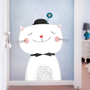 Sleepy Cat Wall Sticker - Just Kidding Store