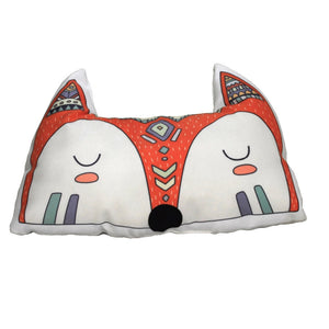 Woodland Animal Kids Cushions - Fox Tribal Pillows - Just Kidding Store