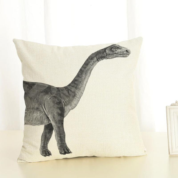 Dinosaur Kids Cushion Cover Dino Pillow Case - Just Kidding Store
