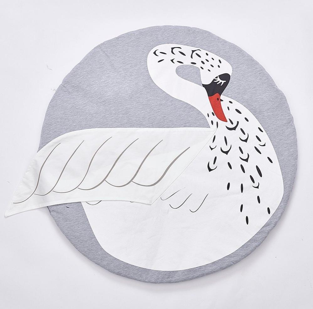 Swan Baby and Kids Play Mat - Just Kidding Store