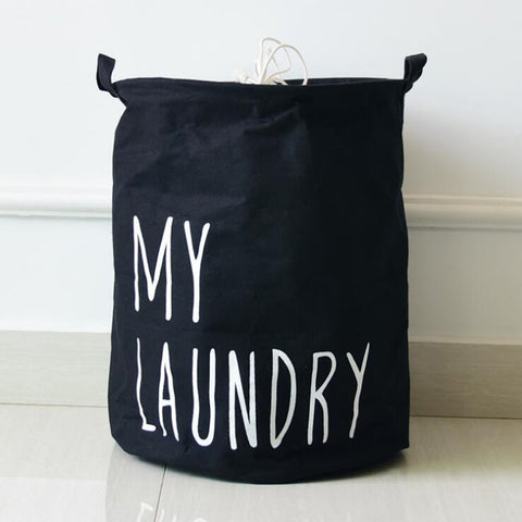 My Laundry Hamper Bag  Kids Clothes Storage Basket  Just Kidding Store