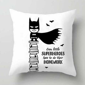 Action Figures Pillow Case  - Batman - Just Kidding Store