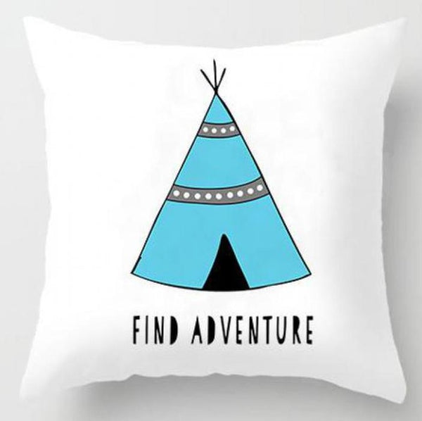 Action Figures Pillow Case  - Find Adventure - Just Kidding Store