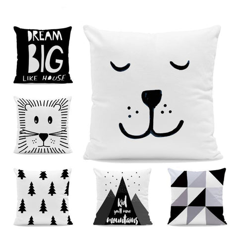 Nordic Style Cushion Covers - Just Kidding Store