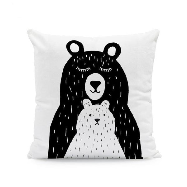 Nordic Style Cushion Covers - Mamma Bear Just Kidding Store