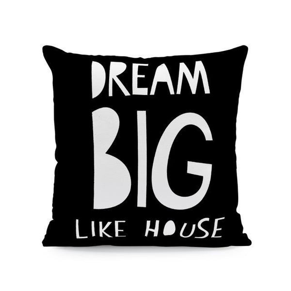 Nordic Style Cushion Covers - Dream Big - Just Kidding Store