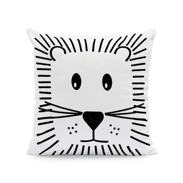 Nordic Style Cushion Covers - Kitty - Just Kidding Store