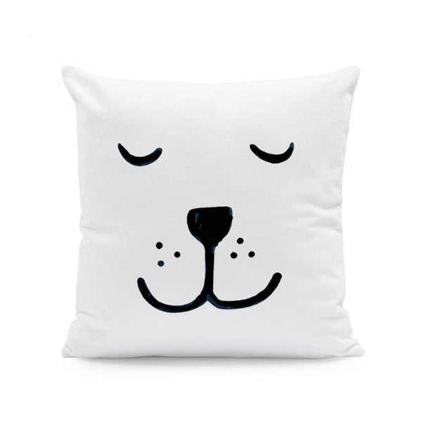 Nordic Style Cushion Covers - Sleepy Bear - Just Kidding Store