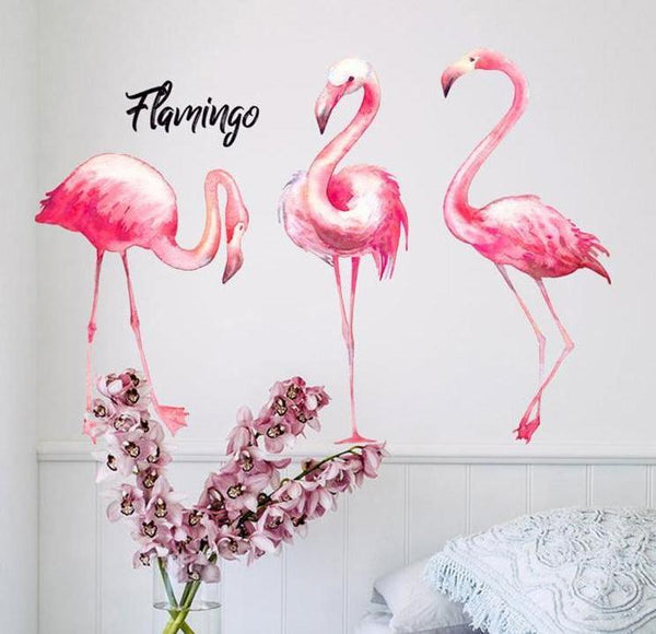 Flamingo Wall Stickers - Just Kidding Store