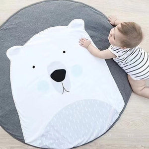 Polar Bear Baby Toddler Play Mat Crawling Mat - Just Kidding Store
