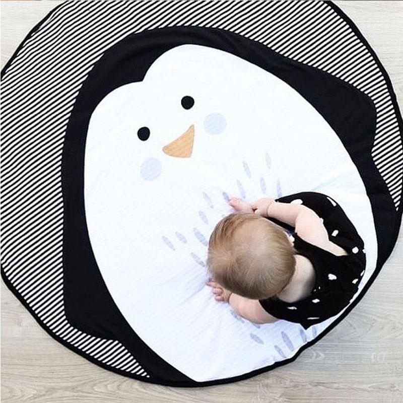 Penguin Play Mat Baby Toddler Crawling Mat - Just Kidding Store