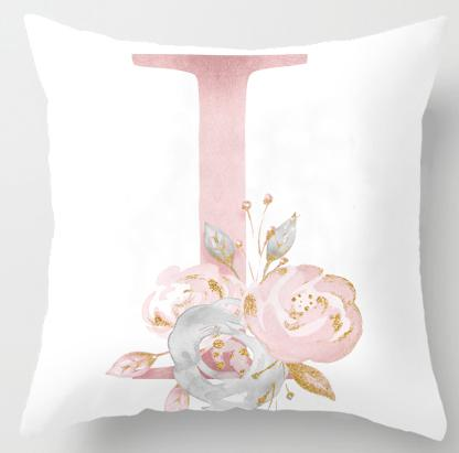 I Initial Personalised Cushion Cover - Just Kidding Store