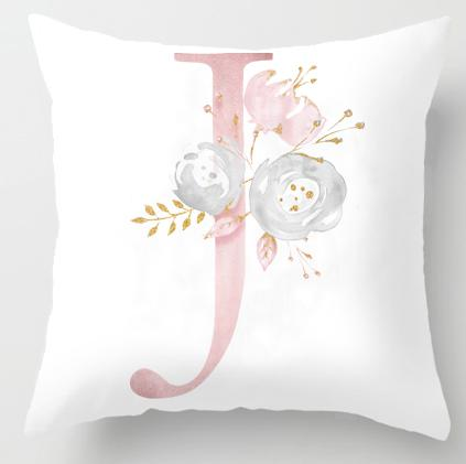 J Initial Personalised Cushion Cover - Just Kidding Store