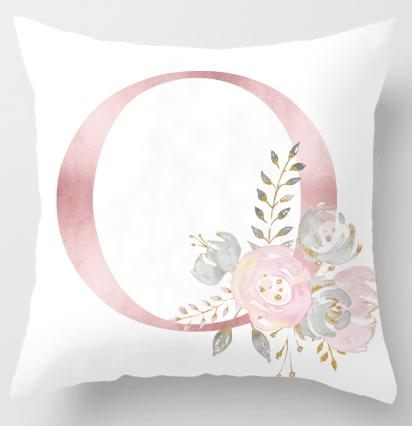 O Initial Personalised Cushion Cover - Just Kidding Store