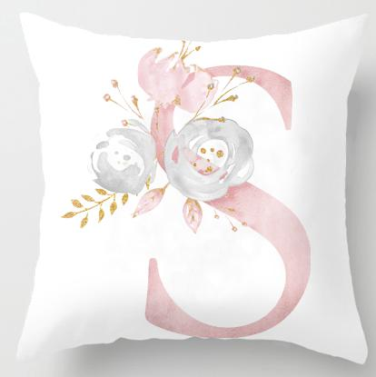 SInitial Personalised Cushion Cover - Just Kidding Store