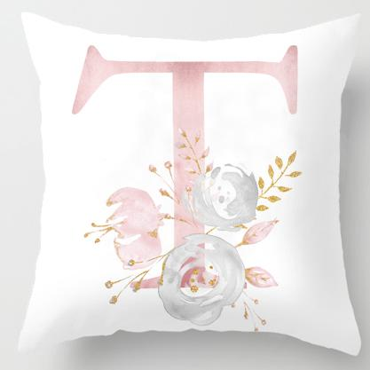 T Initial Personalised Cushion Cover - Just Kidding Store