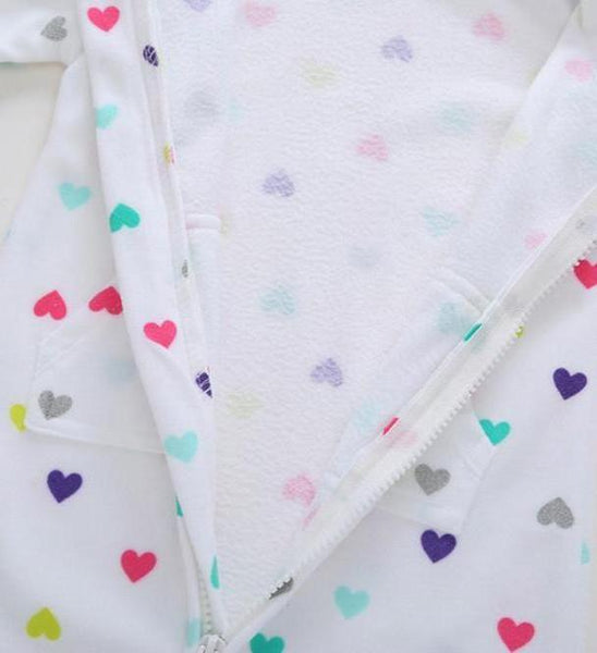 All Over Hearts Romper