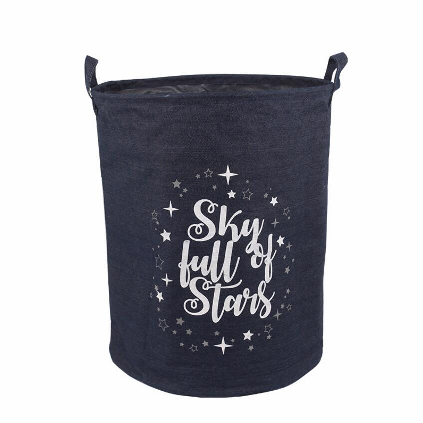 Sky Full Of Stars Storage Basket Kids Hamper Bag - Just Kidding Store