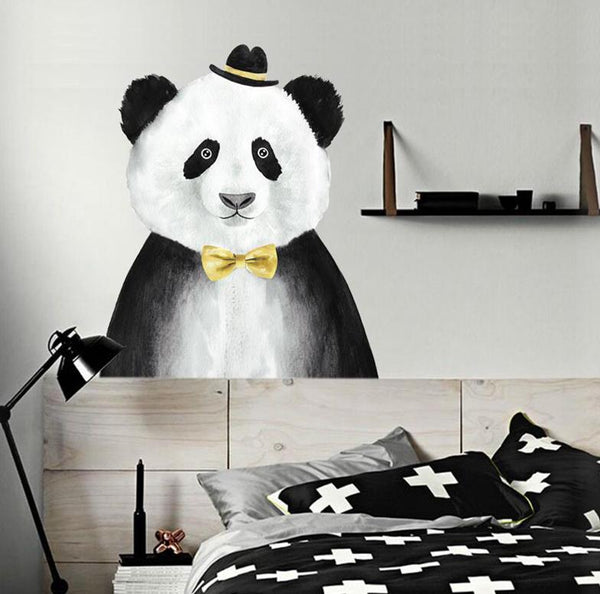 Panda Wall Decal - Just Kidding Store