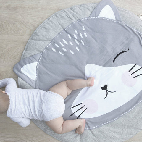 Cat Baby and Toddlers Play Mat - Just Kidding Store