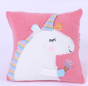 Get Enchanted Unicorn Pillow - Unicorn Cushion - Just Kidding Store