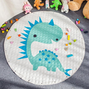 Activity Play Mat - Toy Storage Pouch - Dinosaur - Just KIdding Store