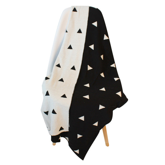 Triangle Cotton Blanket - Just Kidding Store