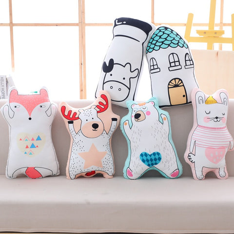 Nordic Style Cushions Childrens Statement Pillows - Just Kidding Store