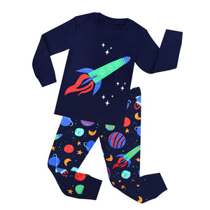 Rocket Sleepwear Set - Kids Pajamas - Just Kidding Store