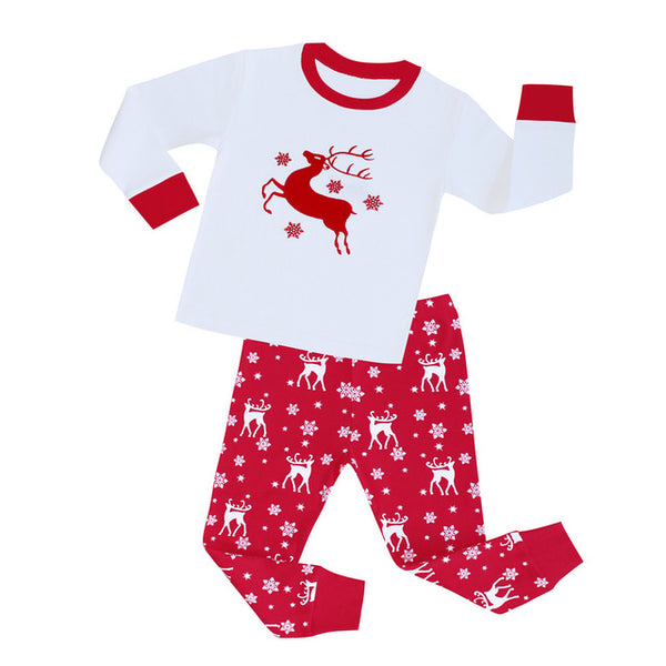 Reindeer Sleepwear Set - Kids Pajamas - Just Kidding Store
