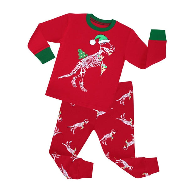 Dinosaur Sleepwear Set - Kids Pajamas - Just Kidding Store
