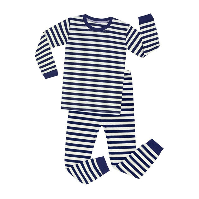 Striped Sleepwear Set - Kids Pajamas - Just Kidding Store
