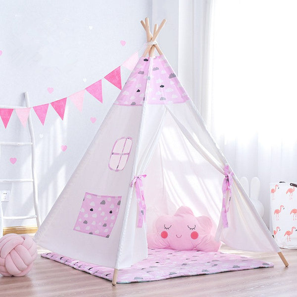 Little Clouds Teepee - Kids Play Tent - Just Kidding Store