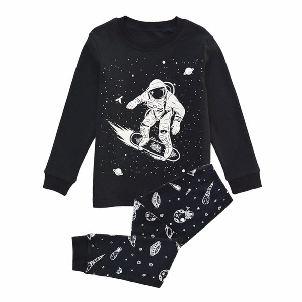 Outer Space Sleepwear Set -Kids Pajamas - Just Kidding Store