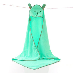 Cotton Hooded Baby Kids Terry Bath Towel - Just Kidding Store