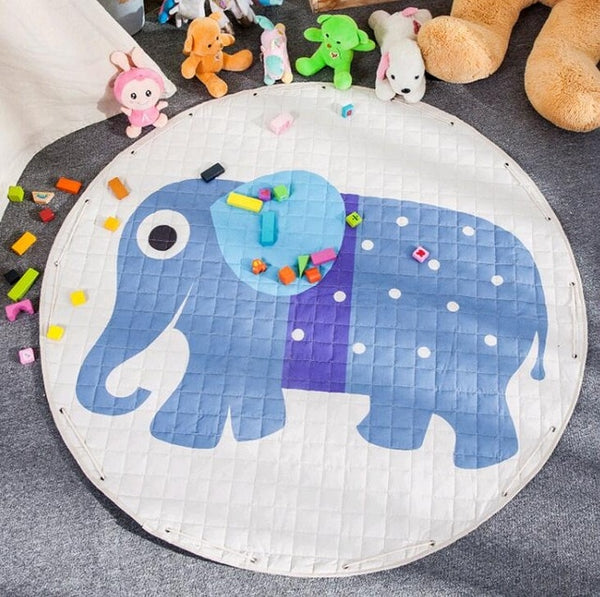 Activity Play Mat - Toy Storage Pouch