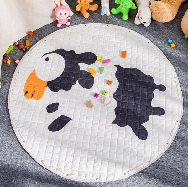 Sheep Kids Activity Play Mat - Toy Storage Pouch - Just Kidding Store