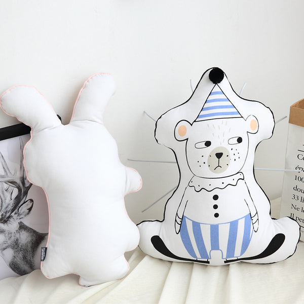 Nordic Kids Cushions - Bear Pillow - Just Kidding Store