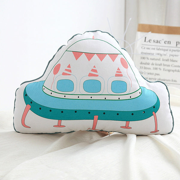 Nordic Kids Cushions - Spaceship Pillow - Just Kidding Store