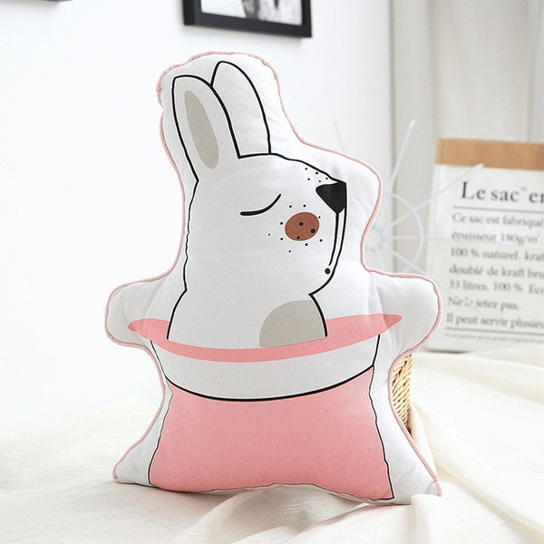 Nordic Kids Cushions - Rabbit Pillow - Just Kidding Store