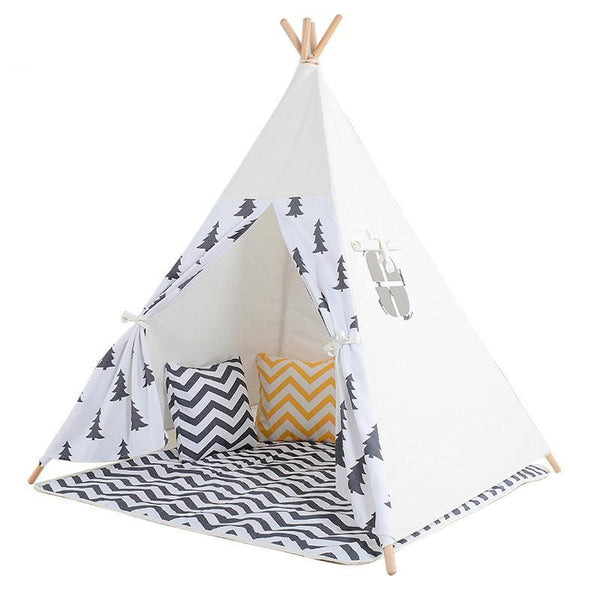 Pine Trees Teepee - Kids Play Tent - Just Kidding Store