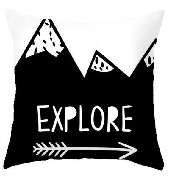 Explore Kids Adventure Style Nordic Cushion Covers - Just Kidding Store