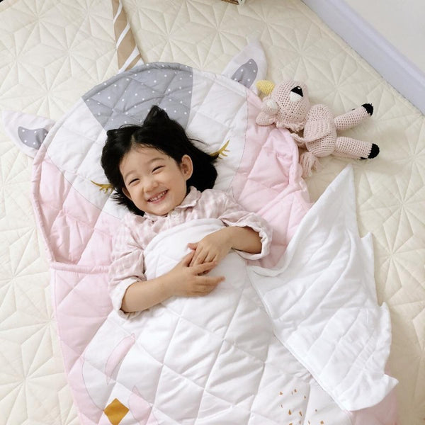 Kids Sleeping Bag - Enchanted Unicorn - Just Kidding Store