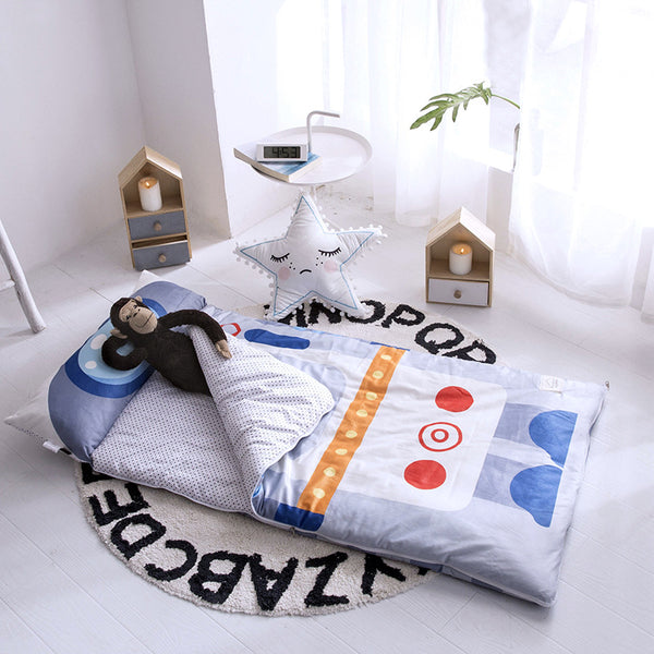 Kids Sleeping Bag With Pillow - Astronaut Sleeping Envelope Just Kidding Store