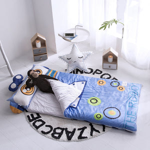 Kids Sleeping Bag With Pillow - Robot Sleeping Envelope Just Kidding Store