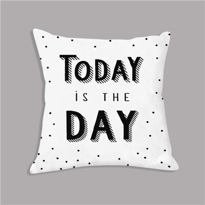 Today Is The Day Nordic Kids Cushion Covers - Just Kidding Store