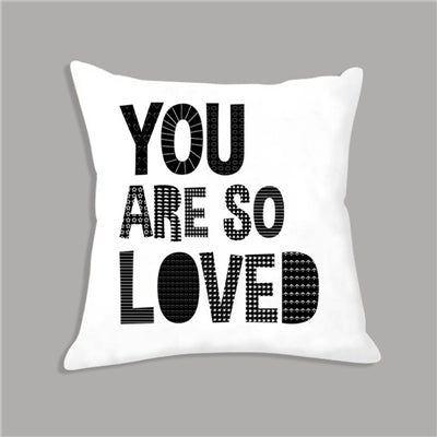 You Are So Loved Nordic Kids Cushion Covers - Just Kidding Store