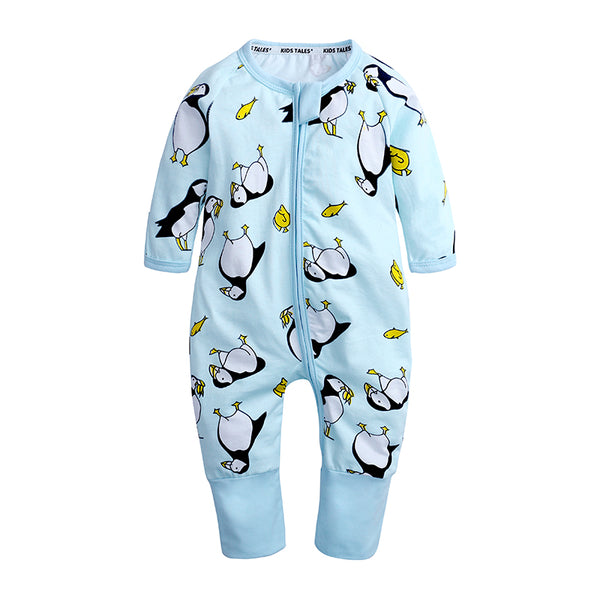Penguin Baby Toddler Kids Romper - Just Kidding Store