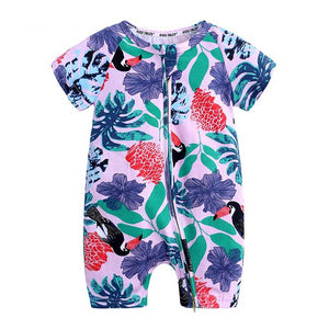 Toucan Summer Baby Toddler Fashion Trendy Romper - Just Kidding Store